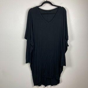 3/$20 Womens Black Long Tunic Dress Size XL